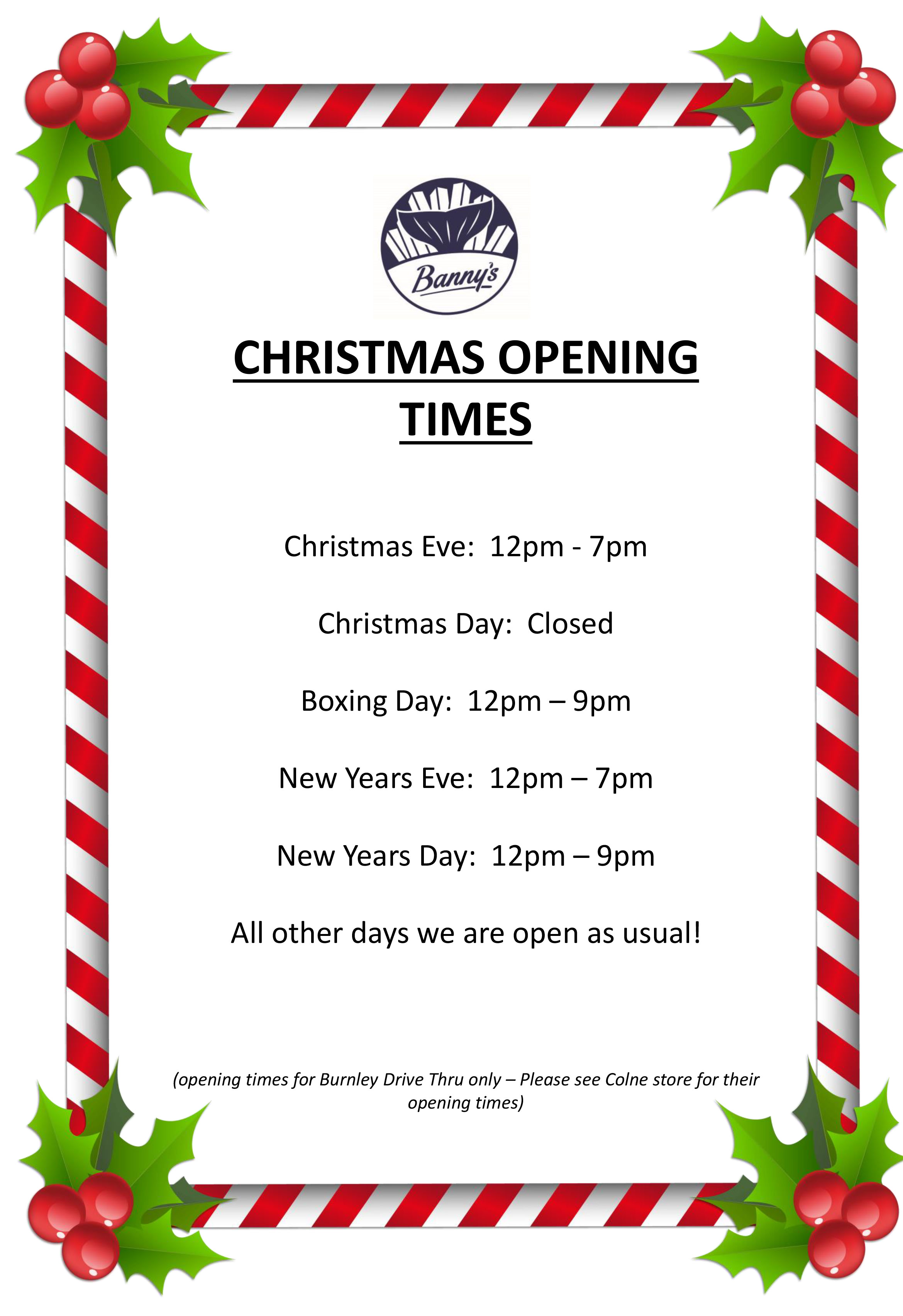 Christmas-Opening-Times-2018-Burnley